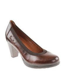 Pierre Cardin Court Shoe Brown