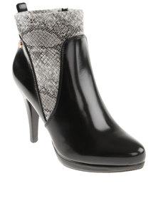 Pierre Cardin Short Boot Black