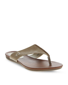 Pierre Cardin Thong Sandals Taupe