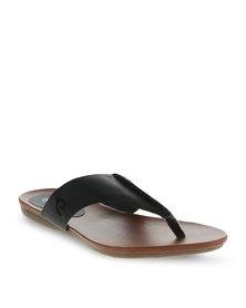 Pierre Cardin Thong Sandals Black