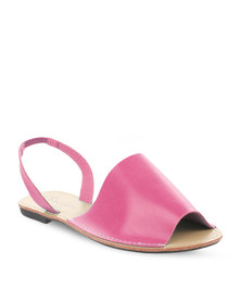 Pierre Cardin Sling Back Sandals Cerise