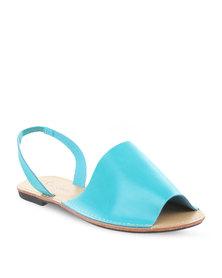 Pierre Cardin Sling Back Sandals Turquoise