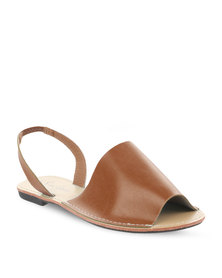 Pierre Cardin Sling Back Sandals Tan