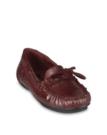 Pierre Cardin Loafers Red