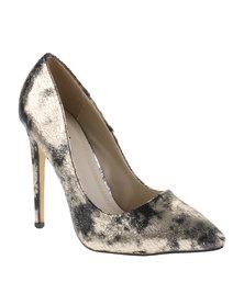 Plum Distinct High Heels Black