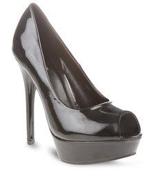 Plum Dakota Heels Black