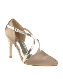 Plum Sway High Heels Champagne