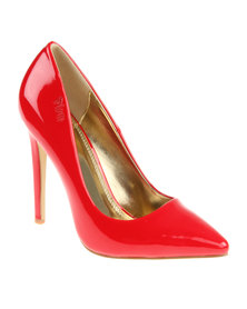 PLUM Lilo 2 Court Shoe Red