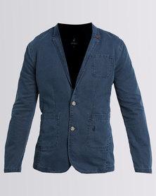Polo Casual Blazer Blue