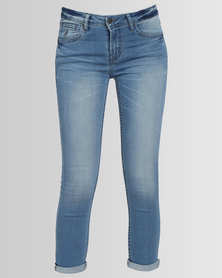 Polo Isabella Cropped Jeans Light Wash