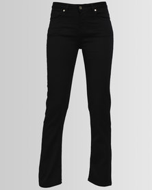 Polo Sophia Slim Leg Jeans Black