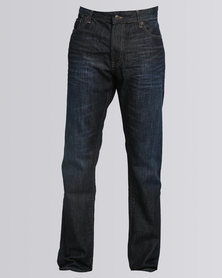 Polo Mens Brandon Narrow Leg Jeans Dark Wash