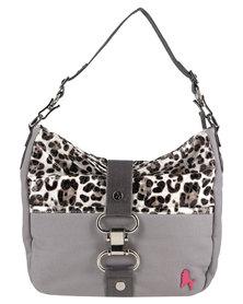 PoodleBag Funkyline Natural Wild Handbag Grey