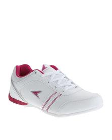 Power Performance Mode PU Sneaker White