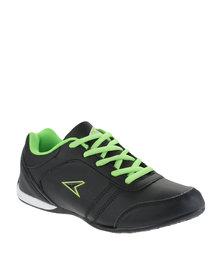 Power Performance Mode PU Sneaker Black