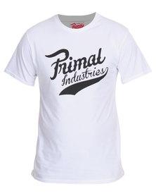 Primal Industries Denim Urge 2 Tee White