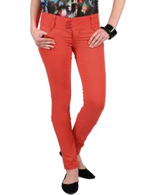 Pull-It Skinny Pants Coral