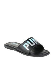 Puma Xcelerate LLL Slide Sandals Black