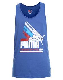 Puma Premium Tank Blue