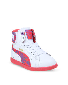 Puma First Round Wildly High Tops White