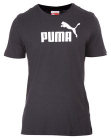 Puma ESS No.1 Logo Tee Black