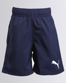 Puma Essentials 4 Woven Shorts Navy