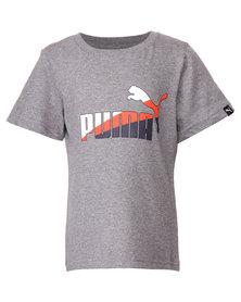 Puma Fun TD Graphic Tee 2 Grey
