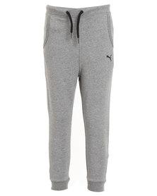 Puma Style Icon Sweat Pants Grey