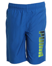 Puma Woven Shorts Blue