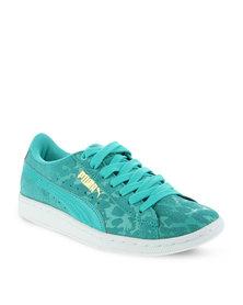 Puma Vikky Animal Sneakers Blue
