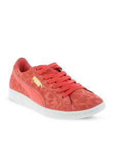 Puma Vikky Animal Sneakers Orange