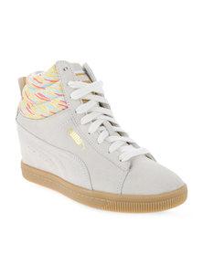 Puma PC Wedge Coastal Whisper Sneakers White