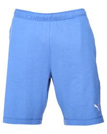 Puma ESS Jersey 9 Bermudas Blue