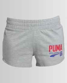 Puma Style Athlete Shorts W Grey