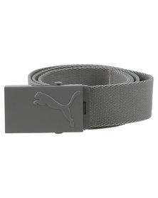 Puma Active Webbing Belt Grey