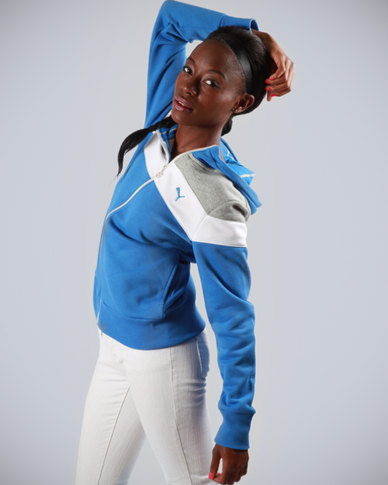 Puma Track Jacket Blue Palace