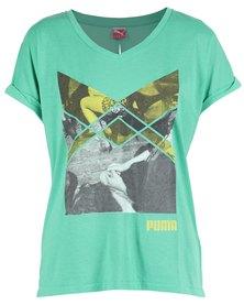 Puma Mls Twist T-Shirt Green