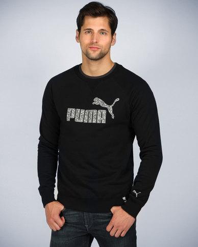 Puma Crew Sweatshirt Black