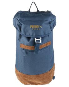 Puma Suede Backpack Blue