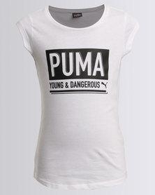 Puma Dangerous Tee White