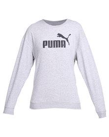 Puma Essential BF Crew Sweatshirt Grey