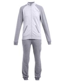 Puma Fun Sweat Track Suit Grey