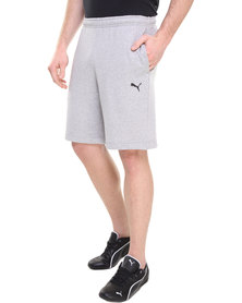Puma ESS Sweat Bermuda Shorts Grey