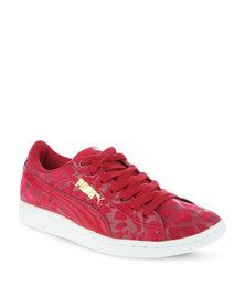 Puma Vikky Animal Sneakers Cerise
