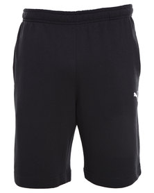 Puma ESS Sweat Bermuda Shorts Black
