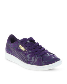 Puma Vikky Animal Sneakers Purple
