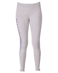 Puma ESS Logo Leggings Grey