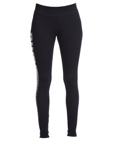 Puma ESS Logo Leggings Black