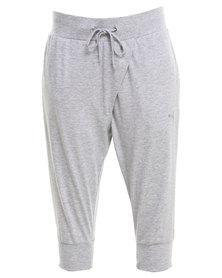 Puma Style Better 3/4 Drapy Pants Grey
