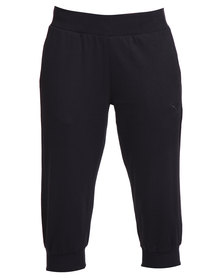 Puma ESS Capri Sweat Pants Black